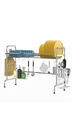 Over the Sink Dish Drying Rack, iSPECLE Large Premium 201 St