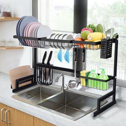 istBoom Over The Sink Dish Drying Rack