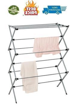 Oversize Folding Drying Rack Laundry Room Clothes Storage Ra