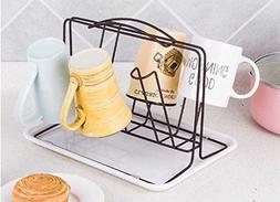 xdobo Party Bar Cup/Mug Rack, stainless steel Rack Holder 6