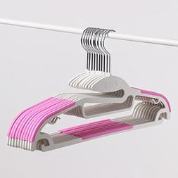Drying Racks Plastic anti - slip hanger clothes hanging hang