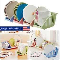 Plastic Dish Plate Drying Sink Rack Organizer Storage Holder