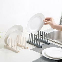 Plastic Dish Rack Tableware Holder Organizer Drying Rack Kit