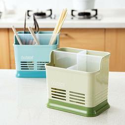 Plastic Kitchen Utensil Cutlery Rack Holder Chopsticks Spoon