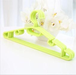 WWZY Plastic Non-slip No trace Sturdy Clothes hangers Dry an