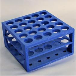 Plastic Rack 7 mm to 100 mm Holes Centrifuge Test Tubes Lab