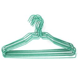 uxcell Plastic Wrapped Metal Rack Clothes Coat Hook Hanger 1