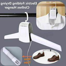 Portable Electric Clothes Drying Rack Dryer Hanger Folding T