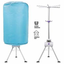 JEOBEST Portable Electric Clothes Dryer 900W Heater Drying R