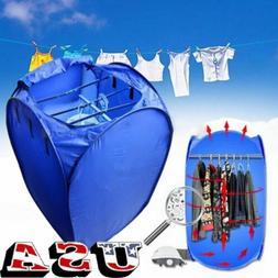 Portable Electric Clothing Dryer 800W Heater Folding Wardrob
