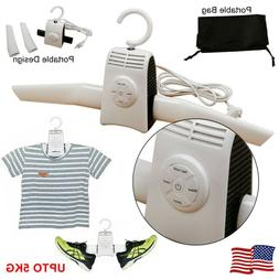 Portable Electric Folding Clothe Hanger Dryer Drying Rack Tr