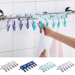 portable hanger clip laundry hook