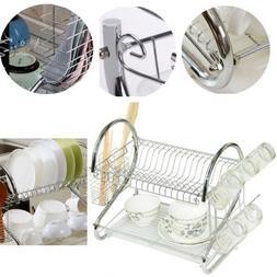 practical kitchen storage dish cup twin layer