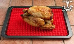 PYRAMID SILICONE BAKING MAT | FREE OVEN LINER | Silicone Bak