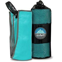 Youphoria Outdoors Microfiber Quick Dry Travel Towel - Ideal