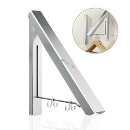 Retractable Clothes Drying Rack Wall Mounted Collapsible Clo