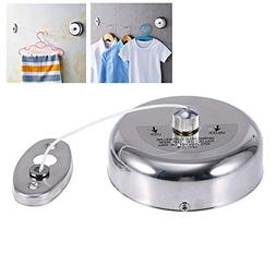 FOONEE Retractable Clothesline Stainless Steel Clothes Dryer
