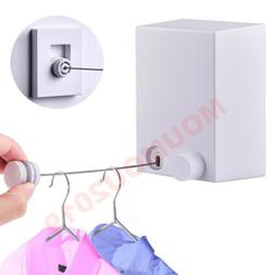 Retractable Indoor Clothes Wall Hanger Magic Drying Rack Inv