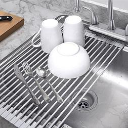 KALREDE Roll- Up Dish Drying Rack Multipurpose– Food Grade