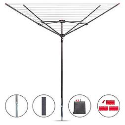 STORAGE MANIAC Rotary Outdoor Umbrella Drying Rack | Collaps