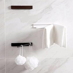 Rotary Towel Rack Drying Rack Towels Hanger Foldable Adhesiv