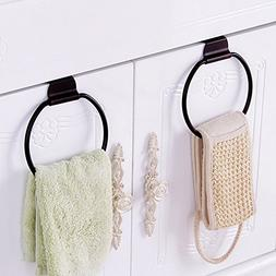 Round Over Door Towel Hanger Hook Towel Drying Rack Bath Tow