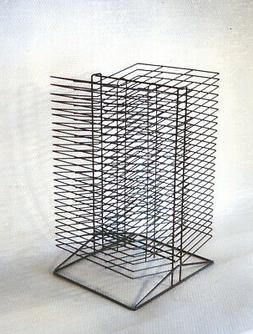 Sax All-Steel Wire Double-Sided Table Top Rack - 17 x 20 x 3