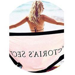 76152cm VS Secret Bath Towel Microfiber Victoria Women Pink