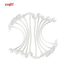 10 Pcs Silicon Baby Toddler Bottle Cup Water Straw Wide Mout