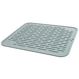 """Silicone Dish Drying Mat 17"""" BPA Free, Food Safe, Heat Resis"""