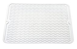 REAL HOME Innovations Silicone Drying Mat White
