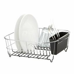 Neat-O Deluxe Chrome-Plated Steel Small Dish Drainers , Chro