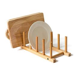 AceList Natural Solid Dish Rack Dishes Drain board Drying Dr