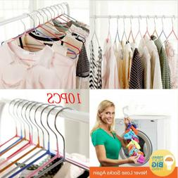 Space Save Storage Rack Hooks Hanger Clothes Holder Drying C