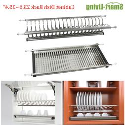 Stainless Steel 2-tier Dish Drying Rack Drainer Plate for Ca