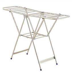 Drying Racks Stainless Steel Airfoil Floorstanding Fold Balc