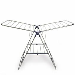 CRESNEL Stainless Steel Clothes Drying Rack Adjustable Folda