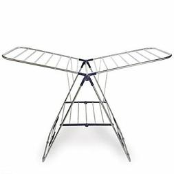 Cresnel Stainless Steel Clothes Drying Rack Adjustable Gullw