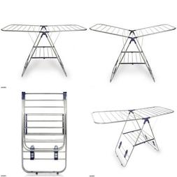 Cresnel Stainless Steel Clothes Drying Rack - Adjustable Gul