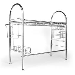 """26.77"""" Stainless Steel Dish Drying Rack Over the Sink Kitche"""