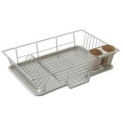 Haoun Stainless Steel Dish Rack Draining Rack Kitchen Storag