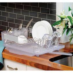 Polder Stainless Steel Dish Rack,Slide-out Drying Tray • 2
