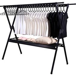 REDHOT Stainless Steel Clothes Drying Rack Collapsible Laund