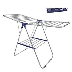 SONGMICS Stainless Steel Clothes Drying Rack, Bonus Sock Cli