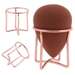 Stainless Steel Drying Stand Display Holder Powder Puff Stor