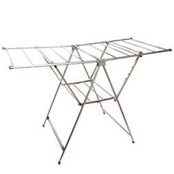 Drying Racks Stainless Steel Floorstanding Fold Cool Shelves
