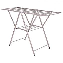 "Stainless Steel 58"" Folding Clothes Drying Rack Drying Rack"