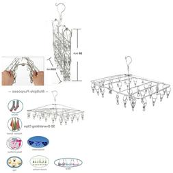 Stainless Steel Hanging Drying Rack– Collapsible Portable
