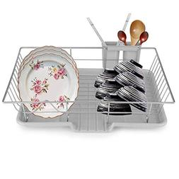 Stainless Steel Kitchen Dish Cup Plate Rack Utensil Holder T
