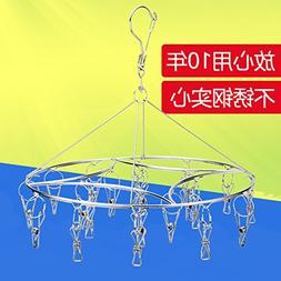 U-emember Stainless Steel Clothes Rack Solid Stainless Ste